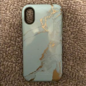 Otter box iPhone X/XS marble phone case